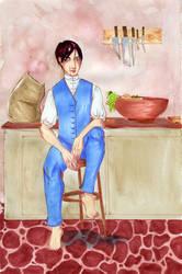 Portrait D'Abernathy by Labyrinthe