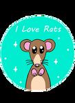 I Love Rats