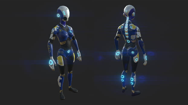 Substance Painter: Providence Storm-Guard
