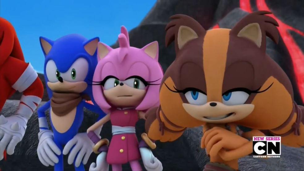 Sonic, Sticks, And Amy by TanyaTackett on DeviantArt