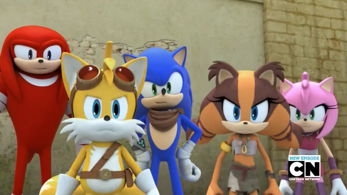 Sonic Boom It Takes a Village to Defeat a Hedgehog by