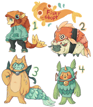 fishy adopts (auction) (open) (4/1)