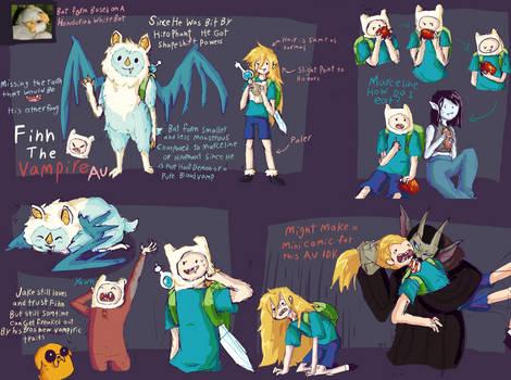 Finn The Vampire Au