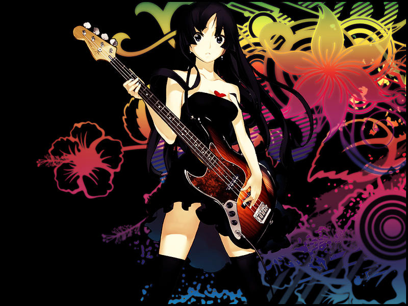 Mio Akiyama The Anime Rockstar By Xile