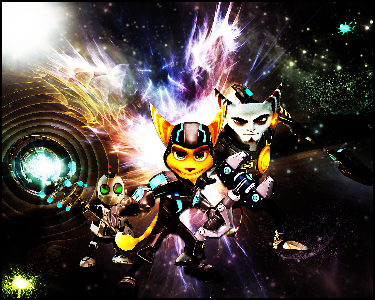 Ratchet And Clank By Xile876 On DeviantArt