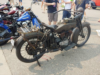 Real Old School Harley Davidson by ShockWaveX2