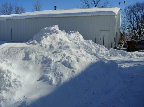 Big Snow Pile