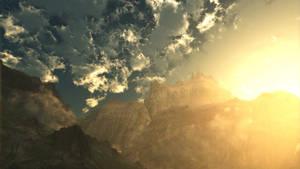 Mountainglow (Wallpaper)