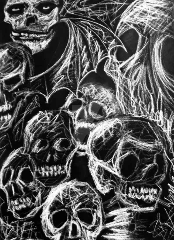 Skulls by dlgksgml-9012