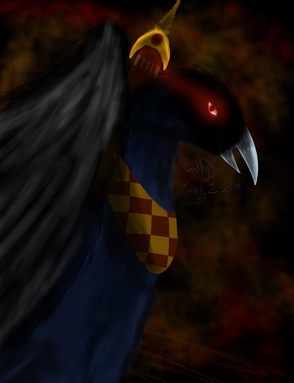Black Demon by GhostDragon64