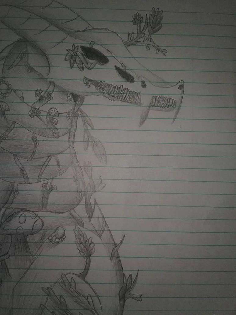 Sugar Skull Dragon? by GhostDragon64