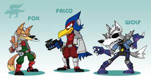 SMASH: Starfox Team
