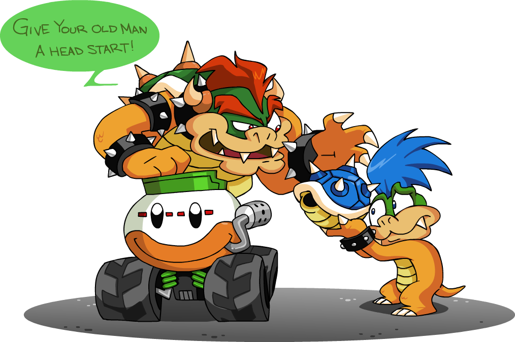 kart no No Kart for Old Koopas by professorfandango on DeviantArt kart no