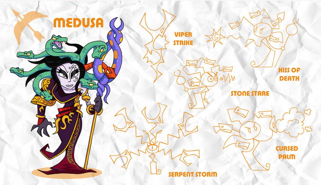 SMASH: Medusa