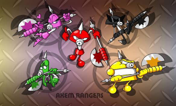 SMRPG: Axem Rangers