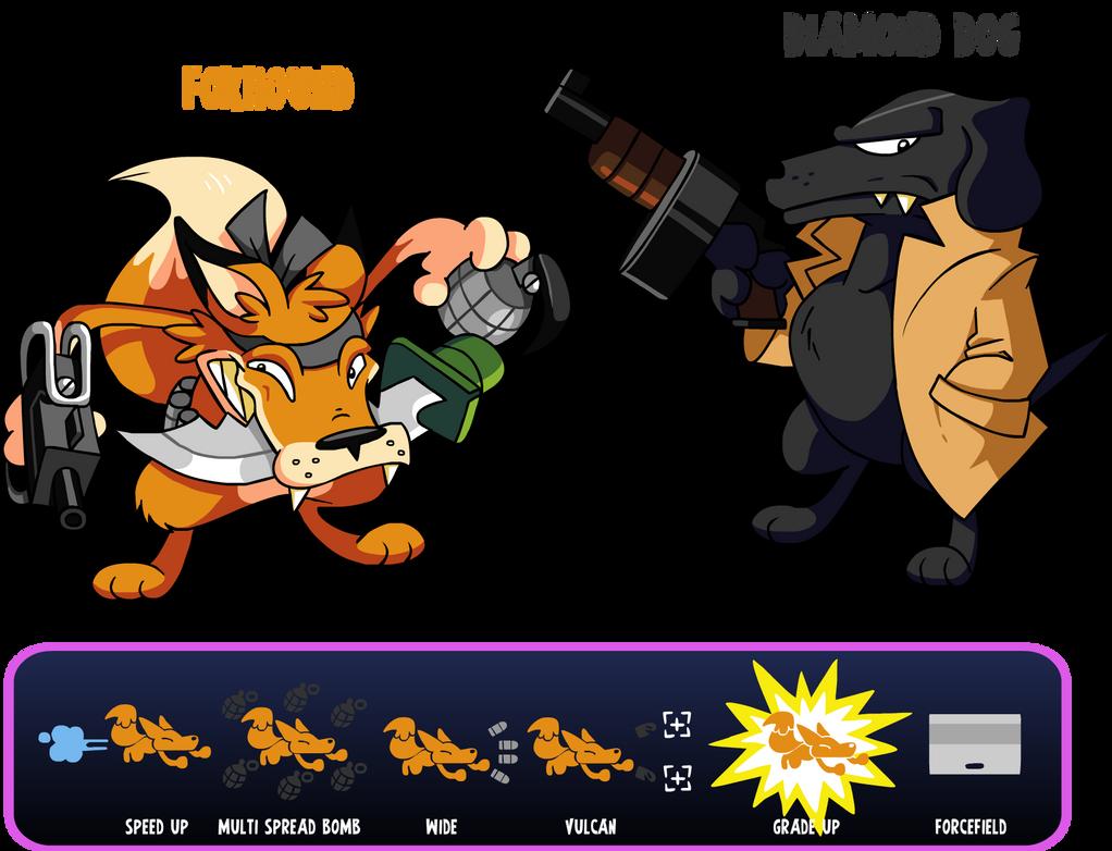 foxhound wallpaper