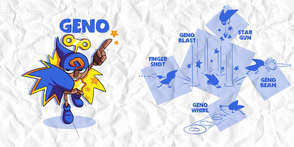 SMASH: GENO by professorfandango
