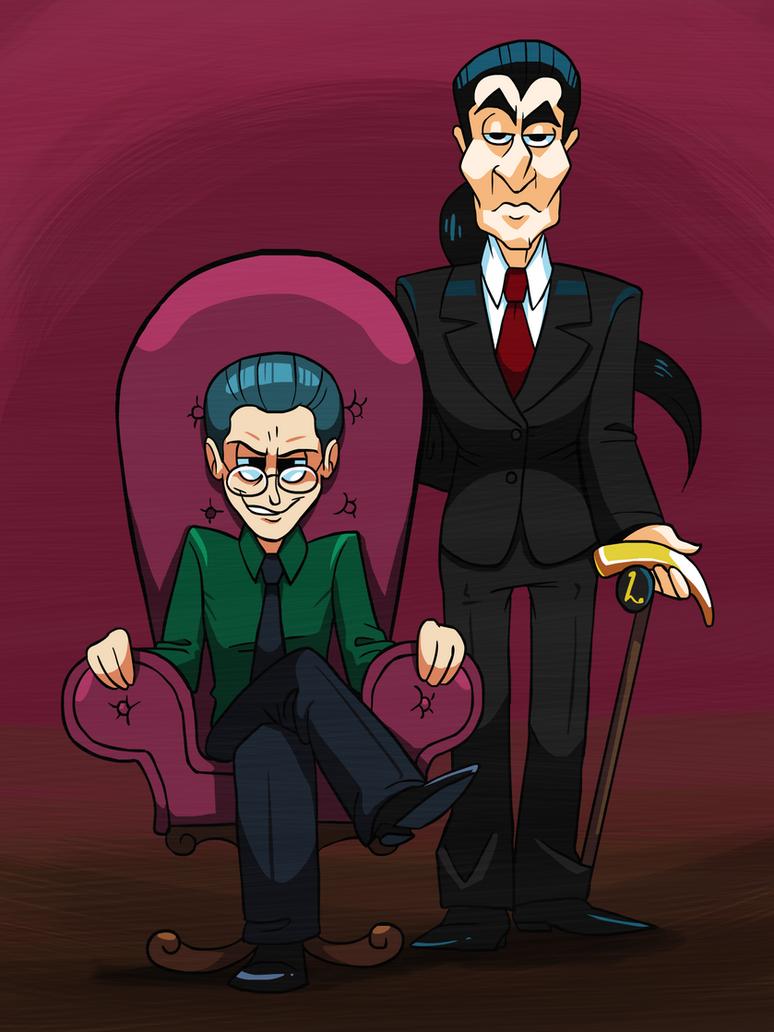 Dewey Creepem and Howe by professorfandango