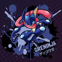 SMASH 150 - 077 - GRENINJA by professorfandango