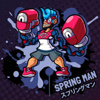 SMASH 150 - 127 - SPRING MAN by professorfandango