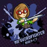 SMASH 150 - 129 - MII SWORDFIGHTER