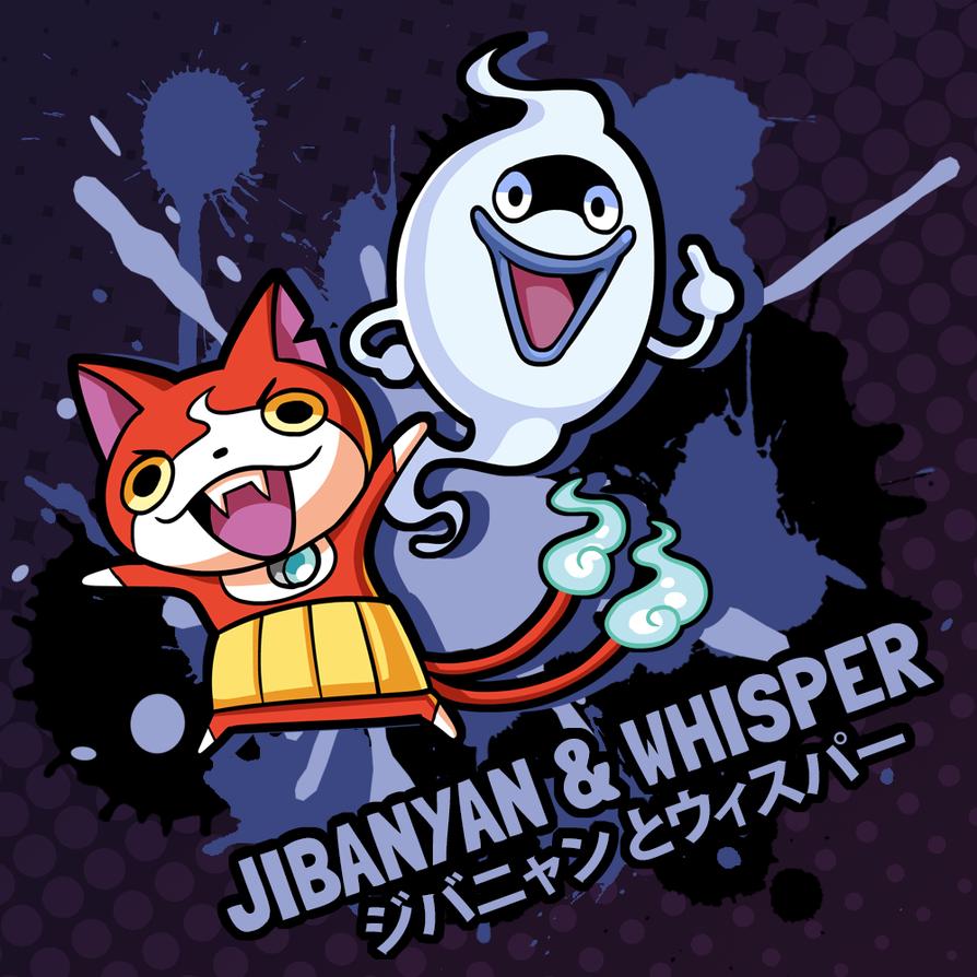 SMASH 150 - 170 - JIBANYAN AND WHISPER by professorfandango
