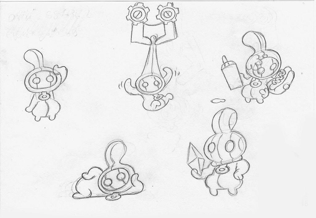 Dogsbody Sketches by professorfandango