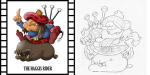 OLD IS NEW - THE HAGGIS RIDER