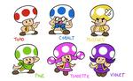 Super Toad Friends