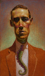H.P. Lovecraft by deadhead16mb