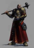 Warrior Priest by deadhead16mb