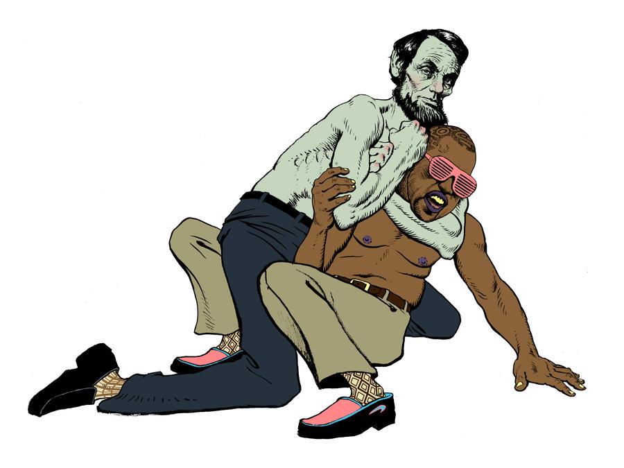 Abe vs Kanye by deadhead16mb