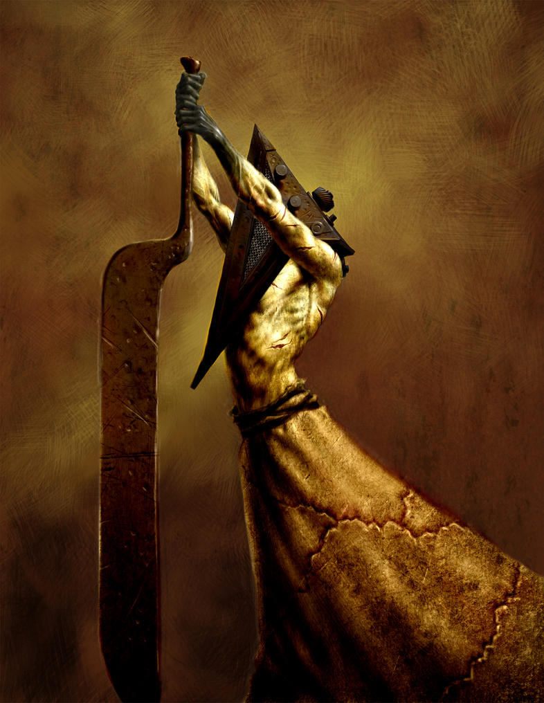 Pyramid Head by deadhead16mb
