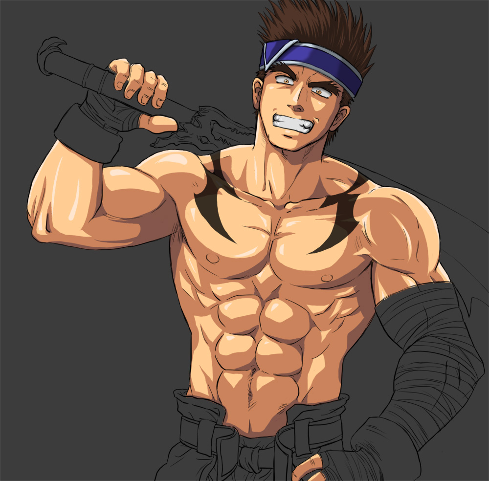 WIP Hwang fanart (Soul Calibur) by cbtdaddy