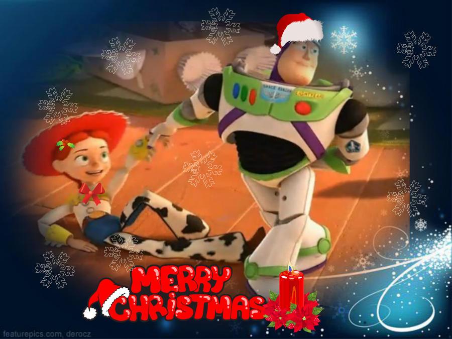 Jessie Christmas.Buzz And Jessie Christmas By Buzz1452 On Deviantart