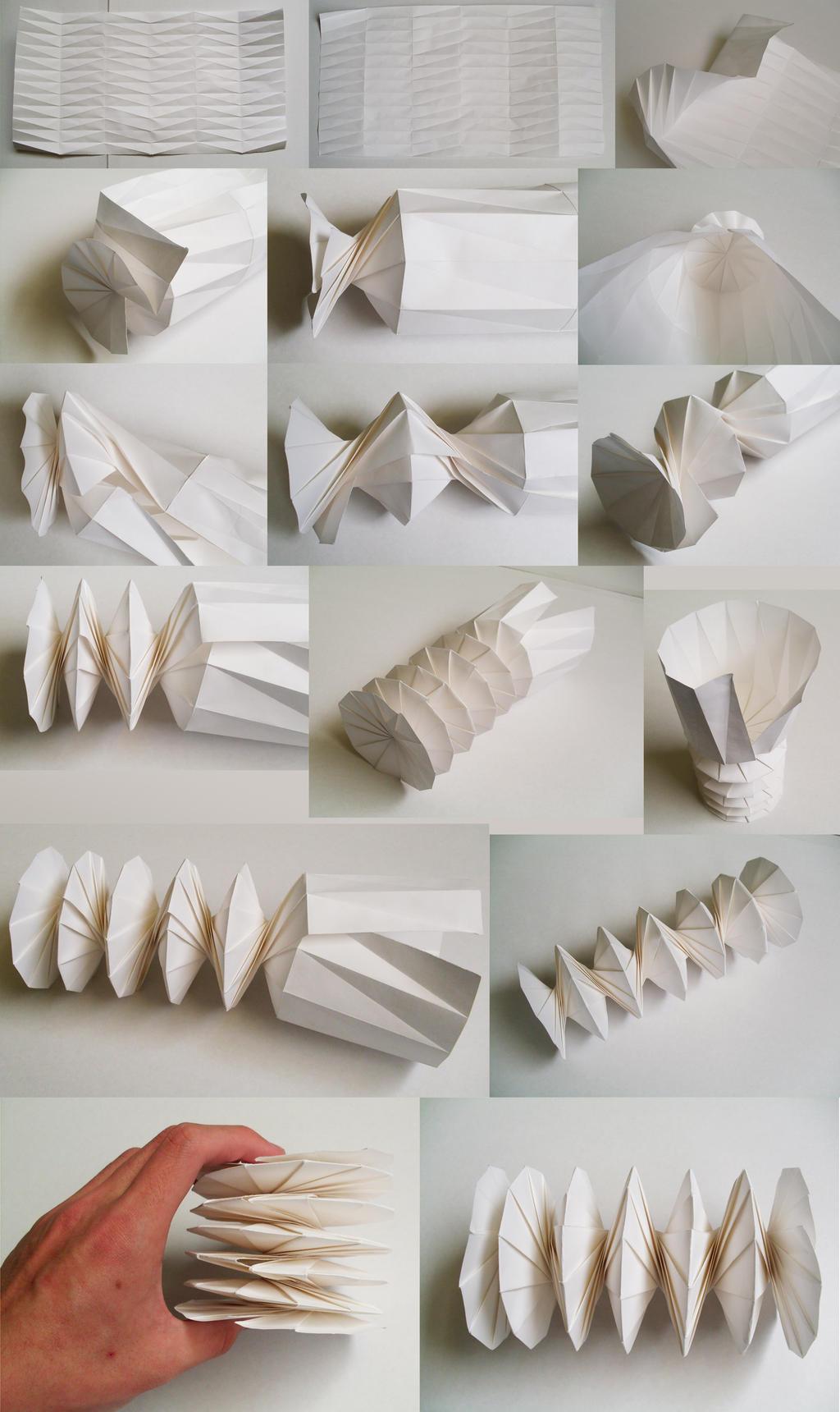 Origami Spring Tutorial Handmade Nut By Jiekai On Deviantart