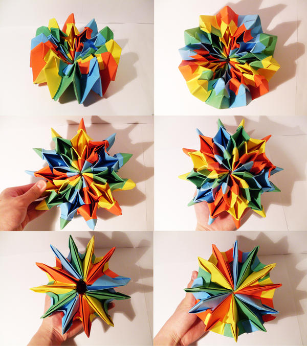 Origami Fireworks by Jiekai