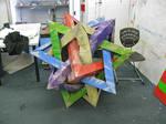 5 Intersecting Tetrahedra