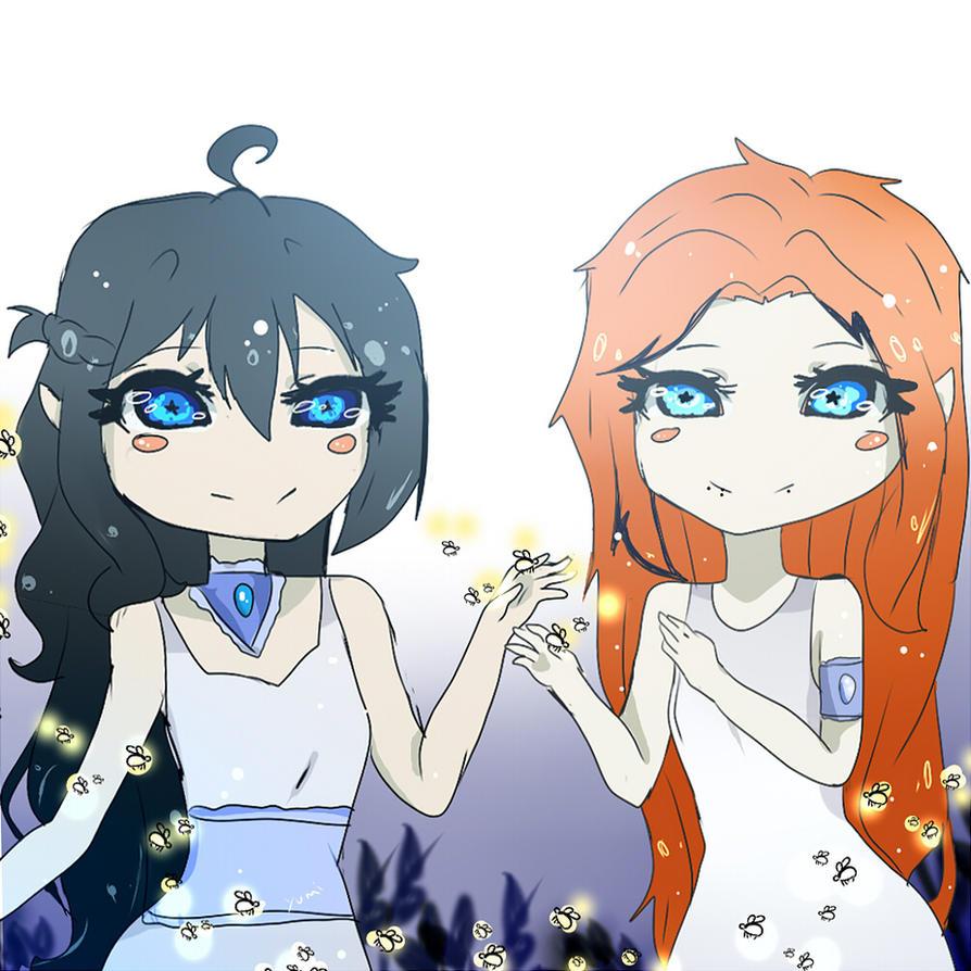 Yumi and Kath (updated ) by Yumi-tesu