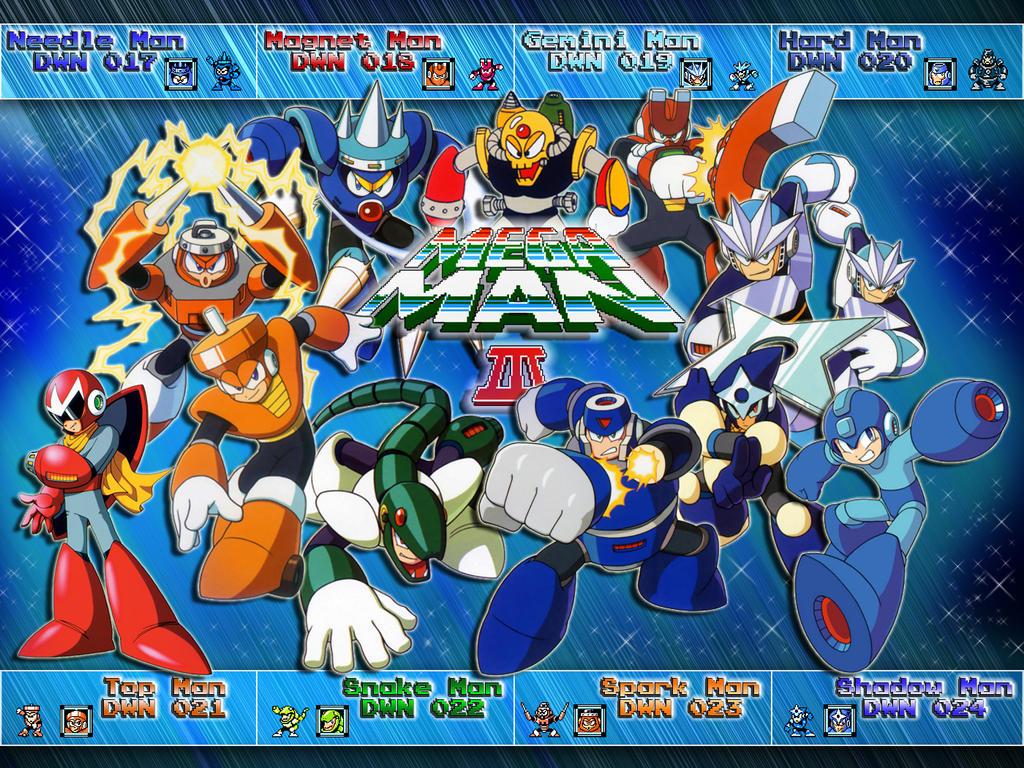 Megaman 3 wallpaper 4:3 by tam6231990