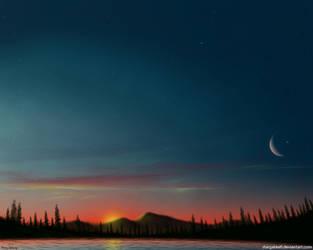 Golden Valley (Sunrise) by stargateatl