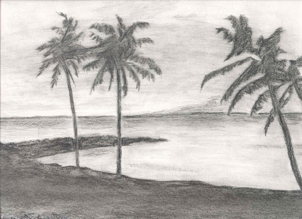 A Beach Scenery by stargateatl on DeviantArt