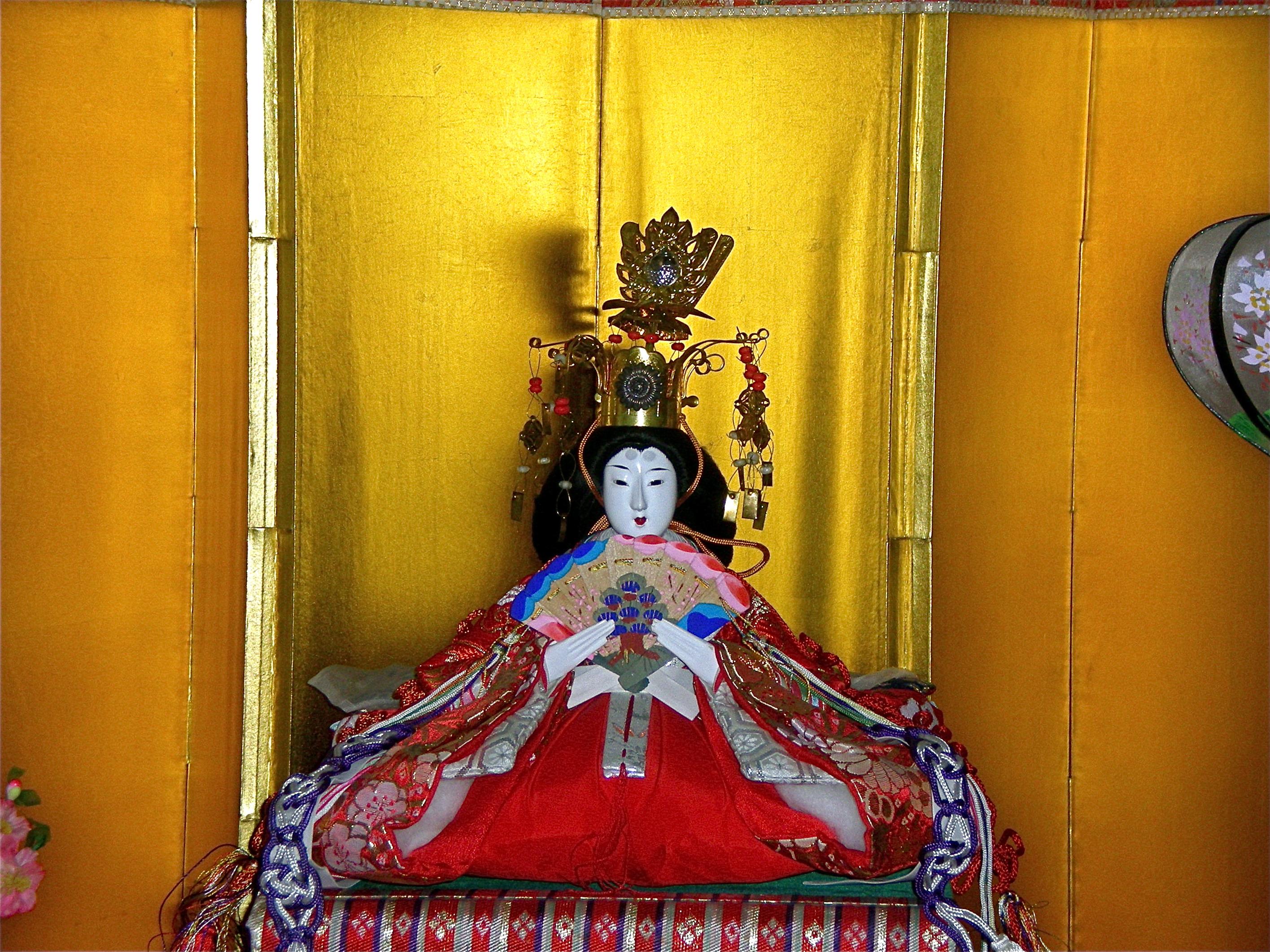 Hina Matsuri Doll by Chron1