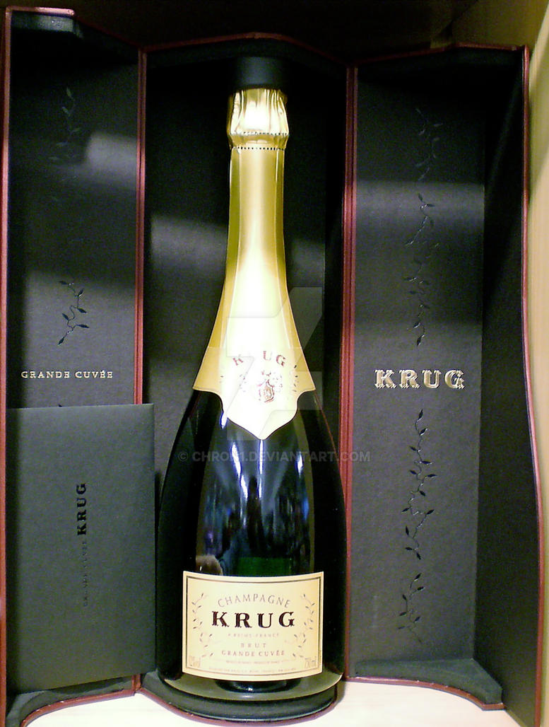Champange ? Krug please by Chron1