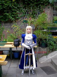 Aninite Cosplays 1: Saber by Chron1