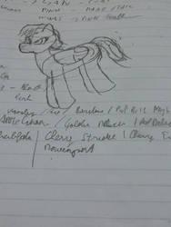OC Pegasus pony by Chron1
