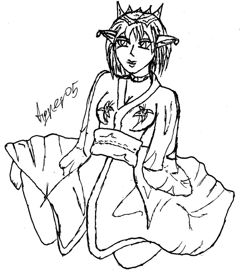 Elven Princess by Chron1