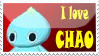 Chao stamp by DarkMetaller