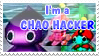 Chao hacker stamp by DarkMetaller