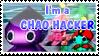 Chao hacker stamp by DarkMetaller